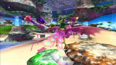 Sega bietet etwas für jeden Geschmack Geschicklichkeit am Wii-Gamepad vorausgesetzt, geht's mit tollen Flugeinlagen durch die Traumwelt.