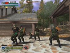 Sega bietet etwas für jeden Geschmack Mit der Lichtpistole statt mit dem Gamepad geht es auf Terroristenhatz.