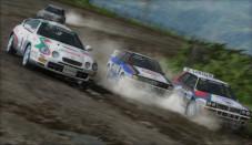 Sega bietet etwas für jeden Geschmack Rallye real: Mit jeder Runde wir die Piste schwieriger zu befahren.