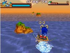 Sega bietet etwas für jeden Geschmack Sonic muss in diesem Geschicklichkeitsspiel mit fiesen Piraten aufräumen.