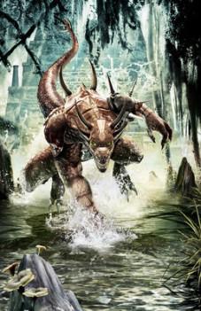 Dragonshard: Die Echsenmenschen sind die Gegner der guten Allianz.