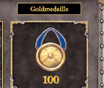 Dragonshard: Für besonders heldenhafte Leistungen gibt's die Goldmedaille.