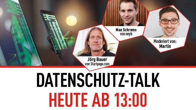 Datenschutz-Talk©COMPUTER BILD
