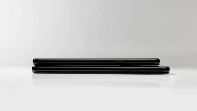Samsung Galaxy S9 vs. S9 Plus: Längenvergleich©COMPUTER BILD