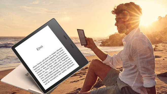 Amazon Kindle Oasis Gold © Amazon
