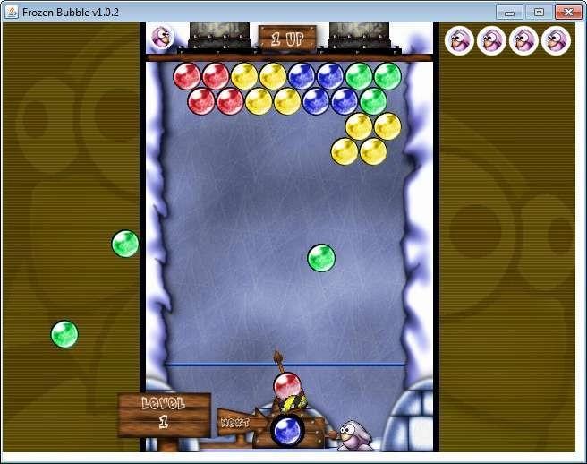 Screenshot 1 - Frozen Bubble