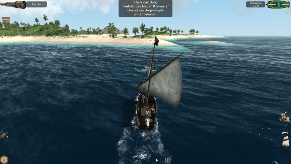 Screenshot 1 - The Pirate: Caribbean Hunt