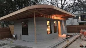Haus aus dem 3D-Drucker©ICON / New Story