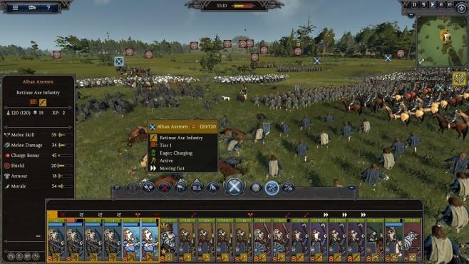 Total War Saga – Thrones of Britannia: Schlachtfeld©Sega/Creative Assembly