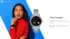 Wear OS by Google © Screenshot wearos.google.com