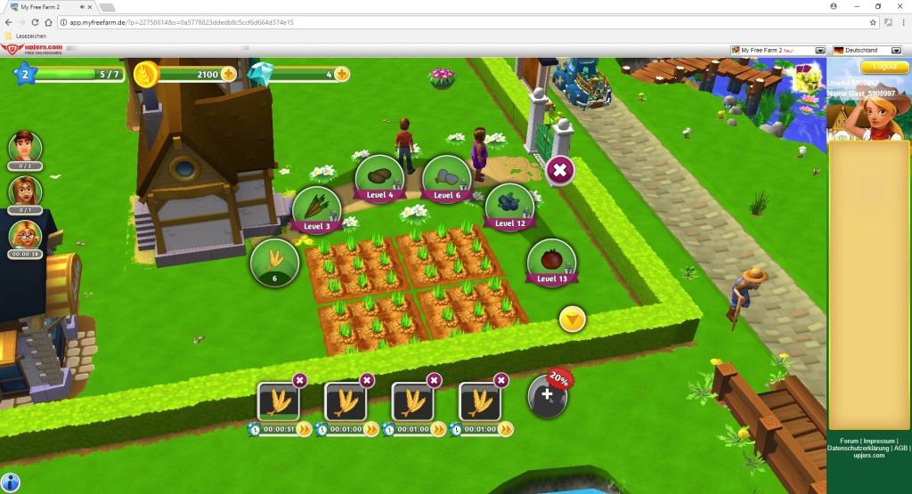 Screenshot 1 - My Free Farm 2