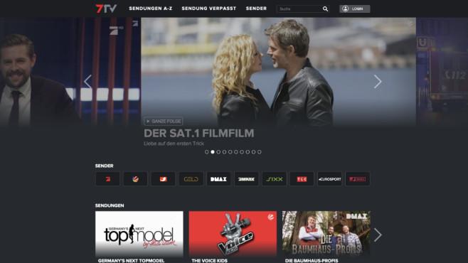 Streaming-Plattform 7TV©COMPUTER BILD