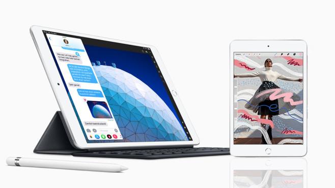 Apple iPad mini (2019) und iPad Air (2019)©Apple