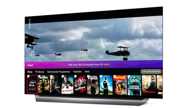 WebOS-Suchfunktion auf LG-Fernseher©LG Electronics, COMPUTER BILD