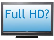 Der TV-Begriff Full HD ist nicht normiert