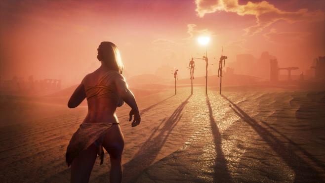 "Ausblick: Spiele-Releases im Mai 2018 Nach langer Early-Access-Phase erscheint endlich das Survival-Spiel ""Conan Exiles"" am 8. Mai.©Funcom"