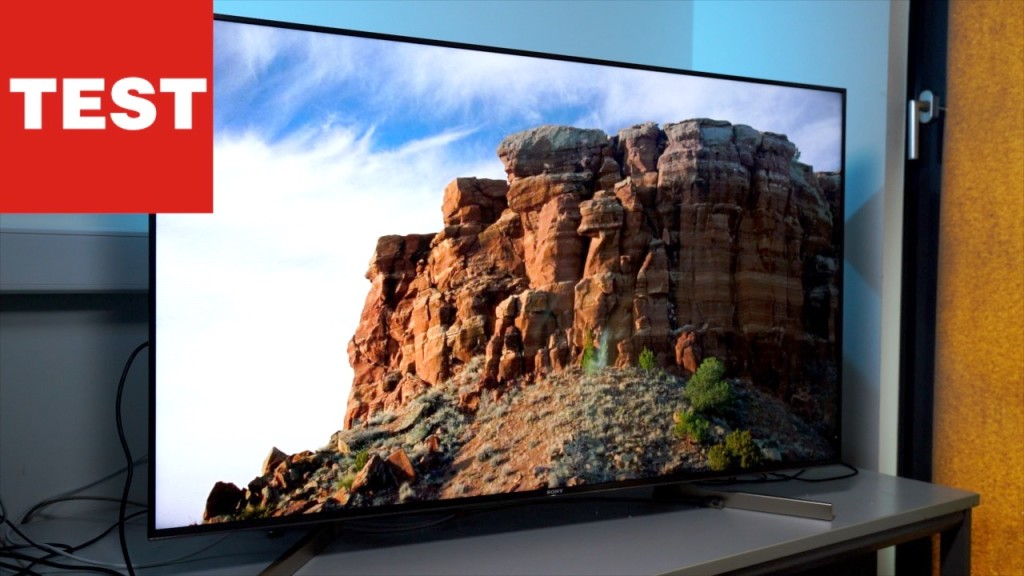 Sony Bravia Kd55xf9005 Android Tv Mit Google Assistant Audio