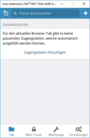 Bitwarden Passwort-Manager für Firefox