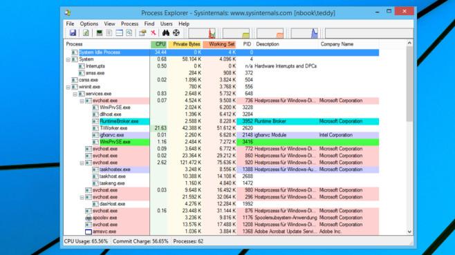 Process Explorer und AnVir: Tutorial zu den häufig besseren Task-Managern Process Explorer und AnVir Task Manager Free durchleuchten Windows und lösen Probleme.©COMPUTER BILD