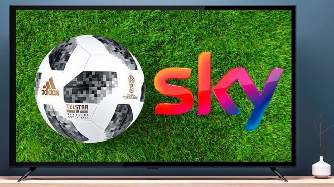 Fußball-WM 2018 © iStock.com/Customdesigner, gettyimages/Angel Martinez, Sky