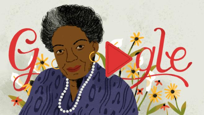 Google Doodle: Maya Angelou©Google