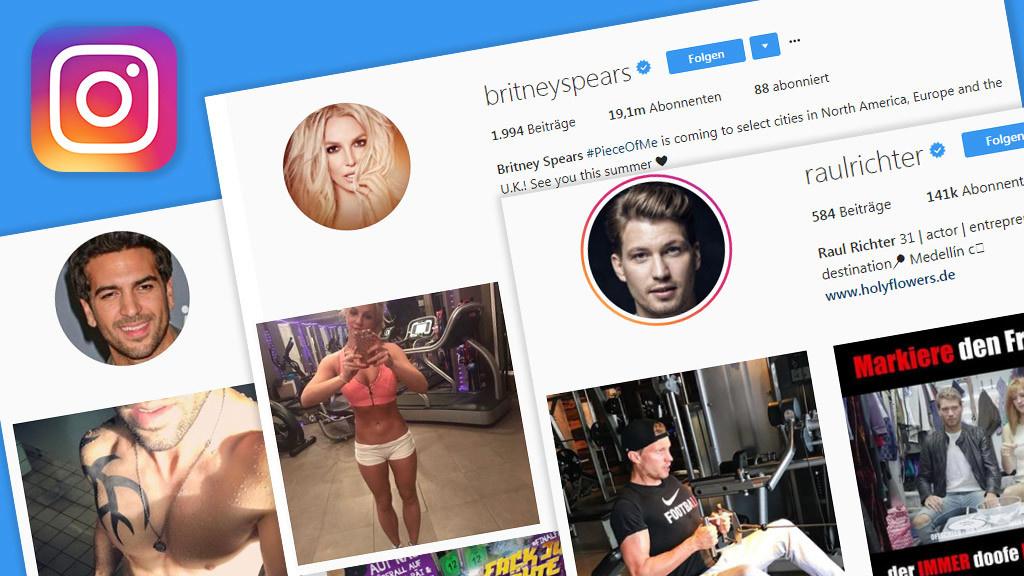 Instagram: Diese Stars sind richtig fit - COMPUTER BILD