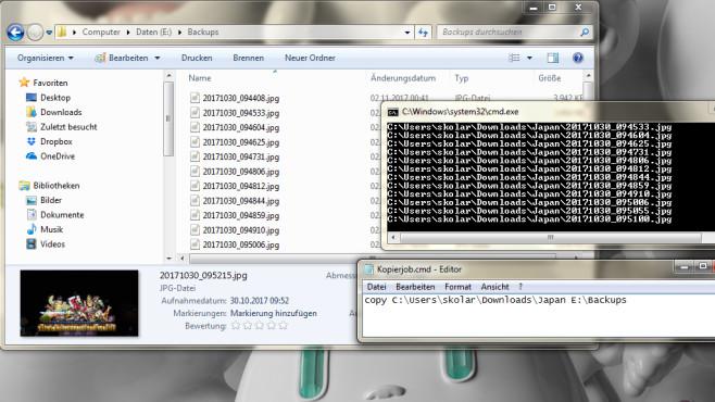 Befehle automatisieren per Batch ©COMPUTER BILD