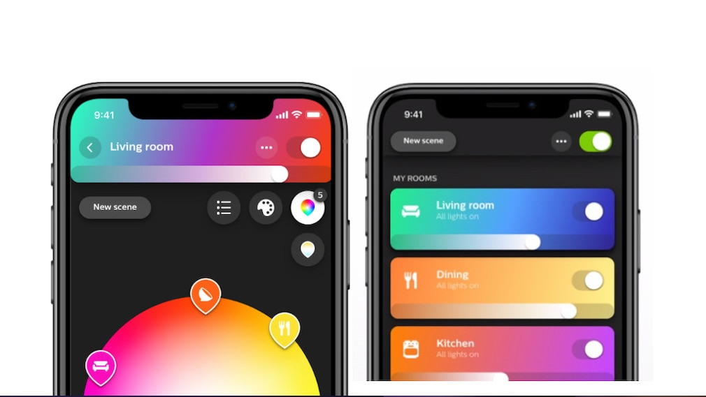 Philips Hue-App