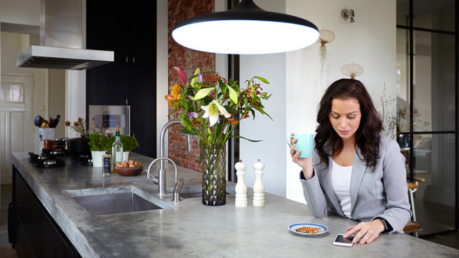 Philips Hue per App steuern©Philips Lighting / Signify