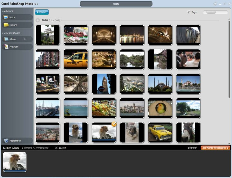 Screenshot 1 - Corel Digital Studio 2010