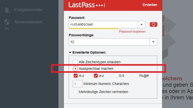 Passwort erstellen und merken: Zwei Tools mit Spezial-Option©COMPUTER BILD