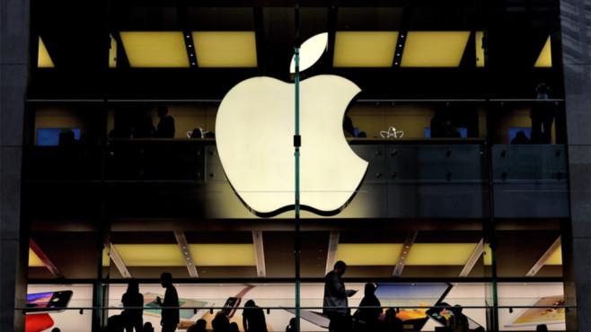 Apple-Logo©dpa-Bildfunk