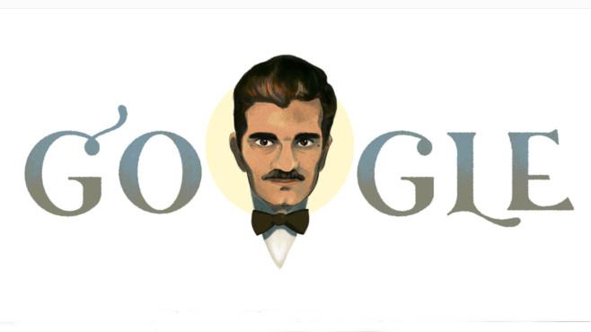 Google Doodle: Omar Sharif©Google