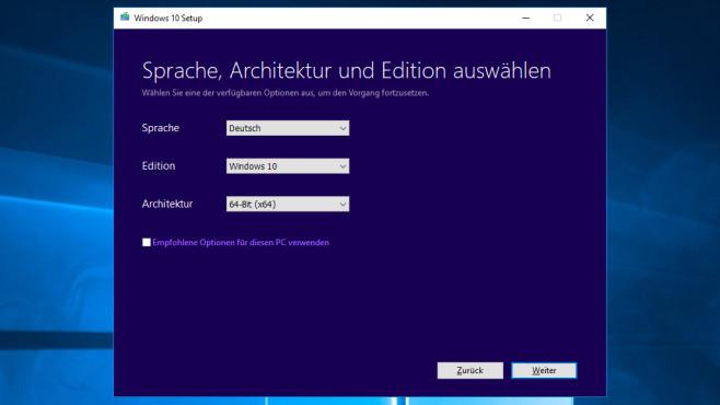 Windows herunterladen: Per ISO Downloader vs Media Creation Tool©COMPUTER BILD