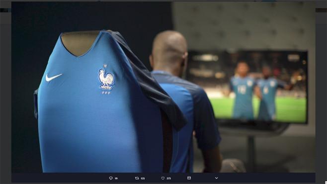 FIFA Nationalmannschaft Frankreich©Twitter / Equipe de France eFoot