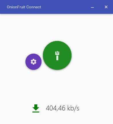 Screenshot 1 - OnionFruit Connect
