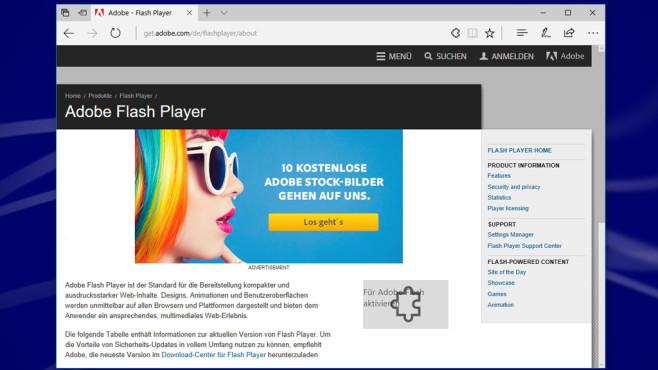 Flash Player unnötig? Diese Webseiten nutzen ihn noch©COMPUTER BILD