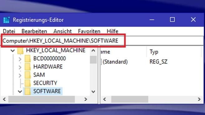 Windows 10: Adressleiste ©COMPUTER BILD