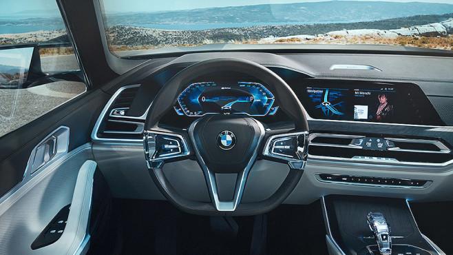 BMW Studie Concept X7©BMW