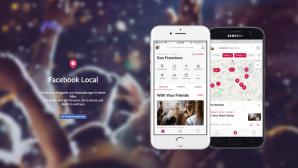 Facebook Local auf Android und iOS©Facebook