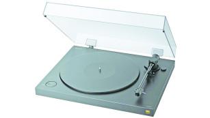 Vinyl lebt: Plattenspieler im Test Der Sony PS-HX500 sieht nicht nur gut aus, er ist auch mechanisch gut gemacht – wichtig für guten Klang.©Sony