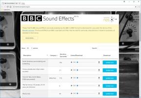BBC Sound Effekte