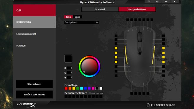 HyperX NGenuity Software©COMPUTER BILD