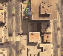 Battlefield 2: Als Commander haben Sie via Satellit den vollen Überblick.