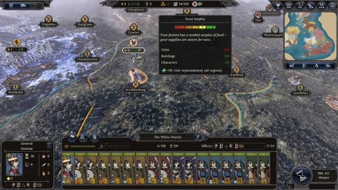 Total War Saga – Thrones of Britannia: Nahrung©Sega/Creative Assembly