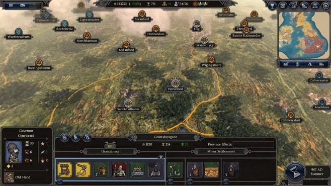 Total War Saga – Thrones of Britannia: Regionen einer Provinz©Sega/Creative Assembly