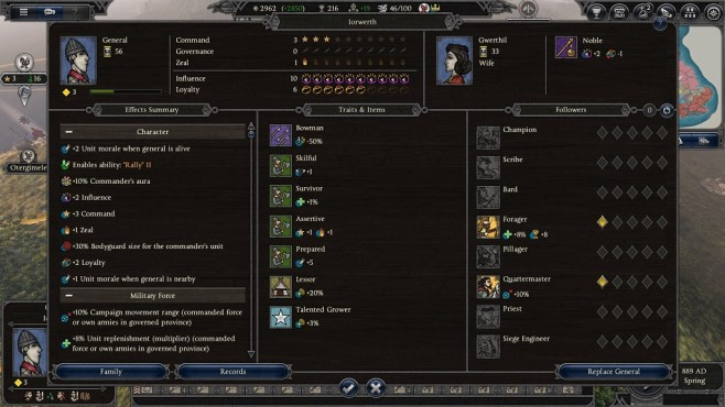 Total War Saga – Thrones of Britannia: Skills©Sega/Creative Assembly