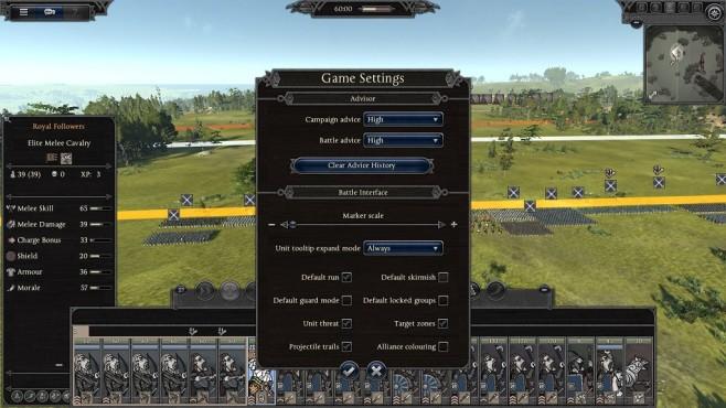 Total War Saga – Thrones of Britannia: Vorgegebenes Verhalten für Einheiten©Sega/Creative Assembly