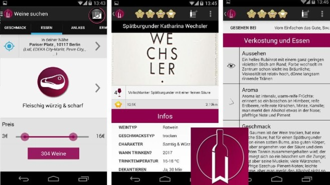 WineMeister – Die Wein App © Digital Arrow
