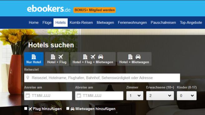 Rabattaktion Gutschein Bei Ebookers Computer Bild